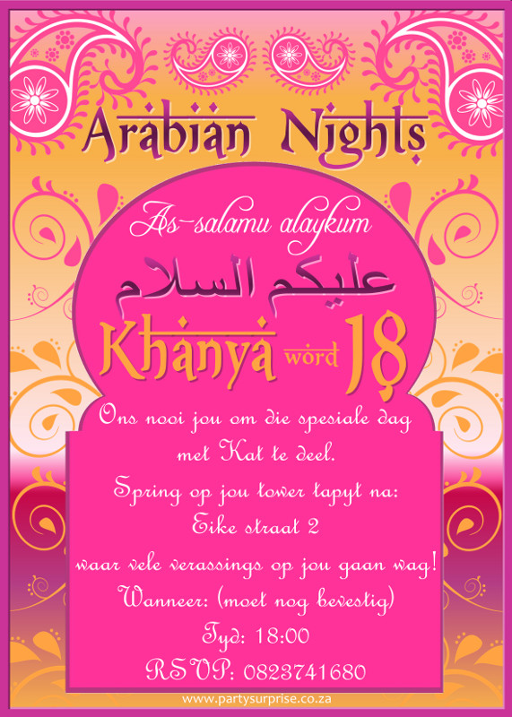 Invitations for Adults