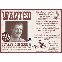 50th Birthday Male Cowboy Invitation