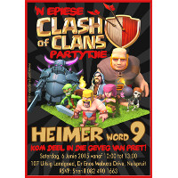 Clash of Clans Invitation