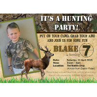 Hunting Party Invitation