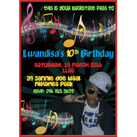 Music Party Invitation