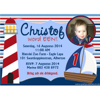 Nautical / Sailor Invitation