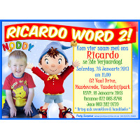 Noddy Invitation