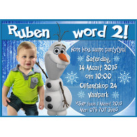 Olaf Frozen Invitation