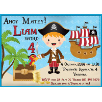 Pirates Party Invitation