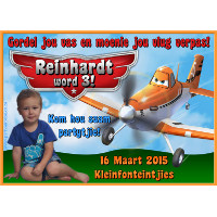 Disney Planes Invitation
