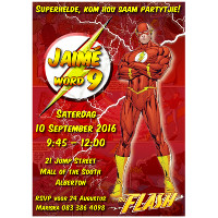 The Flash Invitation