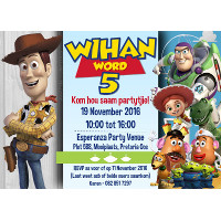 Toy Story Invitation