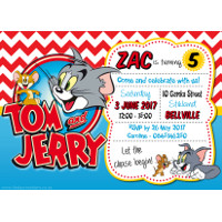 Tom & Jerry Invitation