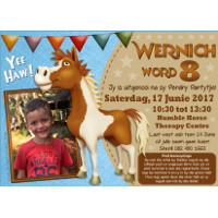 Horse Riding Party Invitation