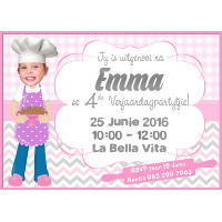 Bake Party Invitation