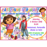 Dora the Explorer Invitation