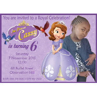 Sofia the First Invitation