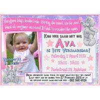 Tatty Teddy Invitation