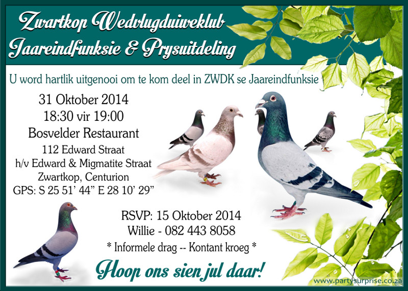 Invitations For Special Occassions
